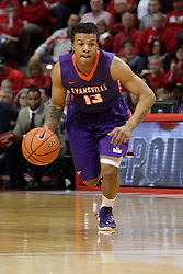 15 January 2016: Harris Brown(13) during the Illinois State Redbirds v Evansville Purple Aces at Redbird Arena in Normal Illinois (Photo by Alan Look)