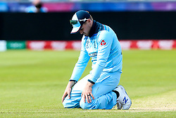 Jason Roy of England cuts a dejected figure - Mandatory by-line: Robbie Stephenson/JMP - 03/07/2019 - CRICKET - Emirates Riverside - Chester-le-Street, England - England v New Zealand - ICC Cricket World Cup 2019 - Group Stage
