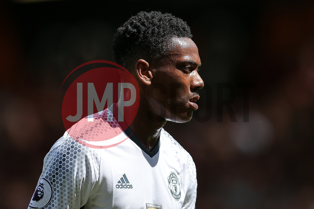 Anthony Martial of Manchester United looks on - Rogan Thomson/JMP - 14/08/2016 - FOOTBALL - Vitality Stadium - Bournemouth, England - Bournemouth v Manchester United - Premier League Opening Weekend.