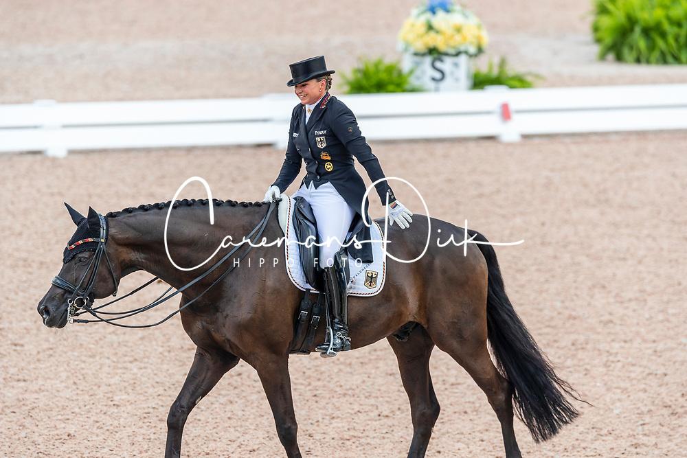 Schneider Dorothee, GER, Sammy Davis Jr<br /> World Equestrian Games - Tryon 2018<br /> © Hippo Foto - Dirk Caremans<br /> 12/09/18
