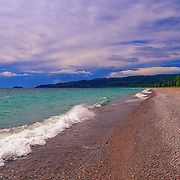 &quot;On Pebbled Beaches 6&quot;<br />
