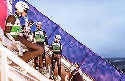 10.02.2019, Salpausselkae Hill, Lahti, FIN, FIS Weltcup Ski Sprung, Herren, im Bild Piotr Zyla (POL), Ryoyu Kobayashi (JPN), Stefan Kraft (AUT), Kamil Stoch (POL) // Piotr Zyla of Poland Ryoyu Kobayashi of Japan Stefan Kraft of Austria Kamil Stoch of Poland during the men's FIS Ski Jumping World Cup at the Salpausselkae Hill in Lahti, Finland on 2019/02/10. EXPA Pictures © 2019, PhotoCredit: EXPA/ JFK