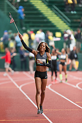 2012 USA Track & Field Olympic Trials: Sanya Richards-Ross wins women's 400 meters
