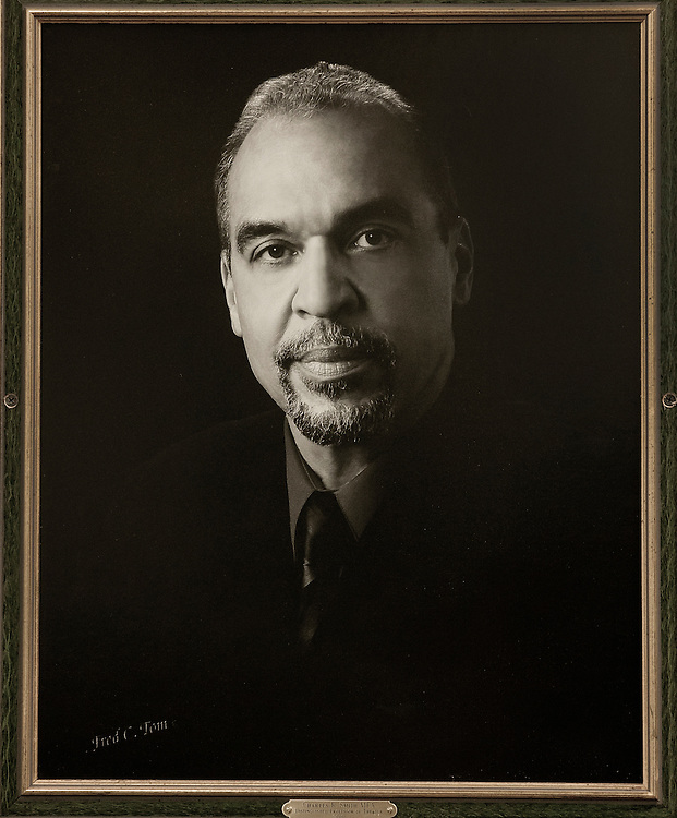 Charles Smith Portrait, Alden Library