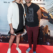 NLD/Amsterdam//20170621 - Premiere Transformers 3D: The Last Knight, Tommie Christiaan en partner Michelle Splietelhof