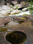 The famous Babinda Boulders along Babinda Creek, near Babinda, QLD, Australia.