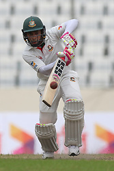 August 29, 2017 - Mirpur, Dhaka, Bangladesh - Bangladesh's Mushfiqur Rahim plays a shot during day three of the First Test match between Bangladesh and Australia at Shere Bangla National Stadium on August 29, 2017 in Mirpur, Bangladesh. (Credit Image: © Ahmed Salahuddin/NurPhoto via ZUMA Press)