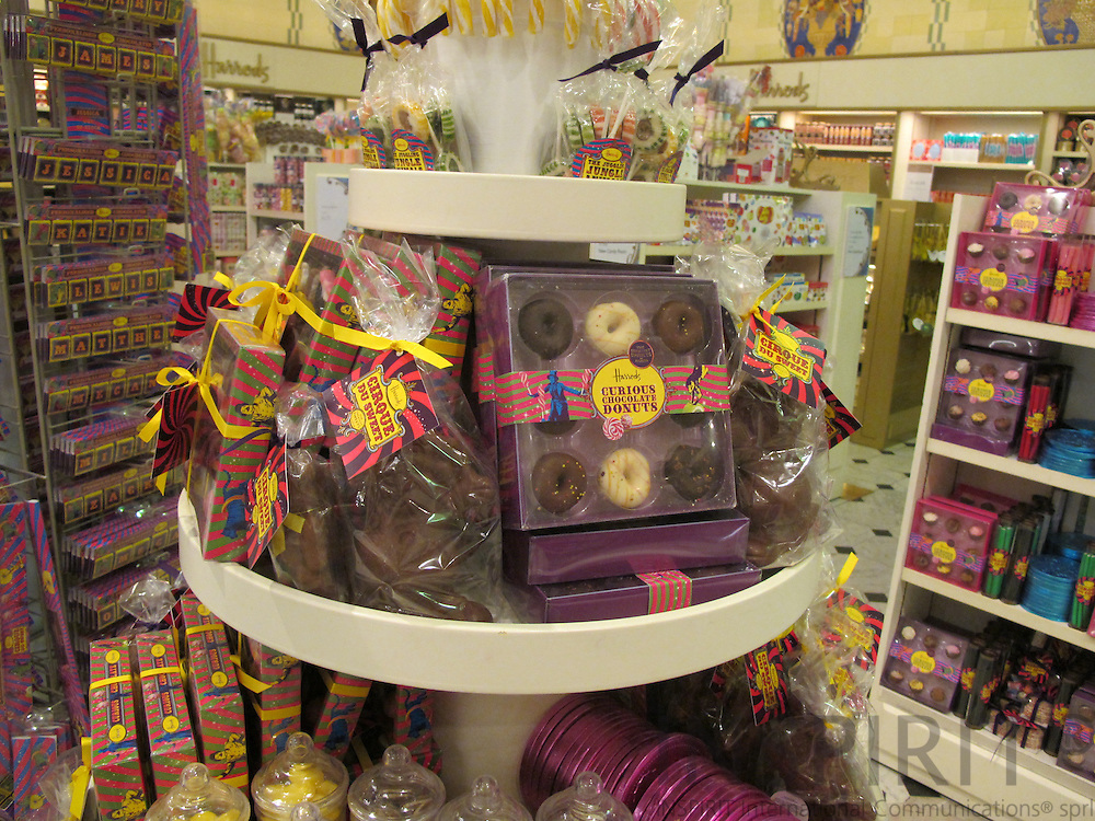 Chocolate for sale at Harrods in London. Photo: Tuuli Sauren / Inspirit International Communications