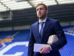 LIVERPOOL, ENGLAND - Saturday, March 12, 2016: Everton's Gerard Deulofeu arrives at Goodison Park before the FA Cup Quarter-Final match against Chelsea. (Pic by David Rawcliffe/Propaganda)