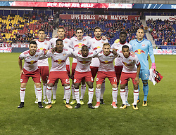 October 30, 2017 - Harrison, New Jersey, United States - New Red Bulls team poses before MLS Cup first leg game against Red Bulls at Red Bull Arena Toronto won 2 - 1 (Credit Image: © Lev Radin/Pacific Press via ZUMA Wire)