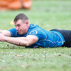 James Venter of the Cell C Sharks during The Cell C Sharks training session 10th December 2019 at Jonsson Kings Park Stadium in Durban, South Africa. (Photo by Steve Haag)<br /> <br /> images for social media must have consent from Steve Haag