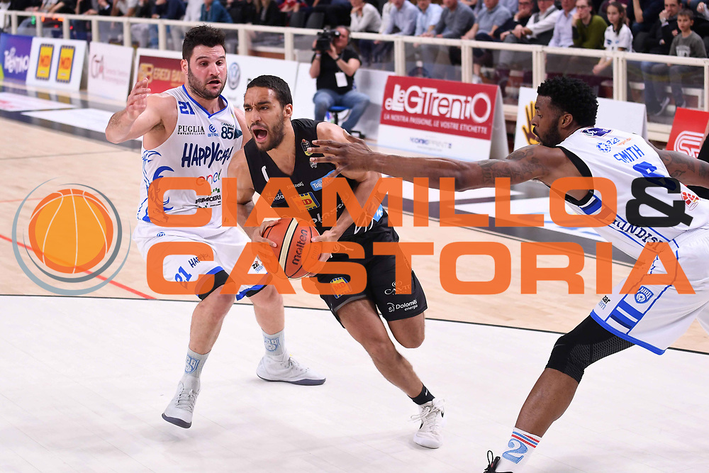 Yannick Franke<br /> Dolomiti Energia Aquila Basket Trento - Happy Casa New Basket Brindisi<br /> LegaBasket Serie A 2017/2018<br /> Trento, 08/04/2018<br /> Foto M.Ceretti / Ciamillo - Castoria