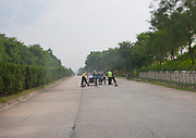 HIGHWAY TO YELL IN NORTH KOREA<br />