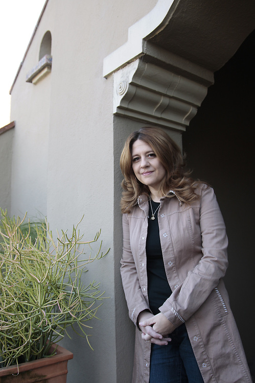 Cori Stern, Co-Founder of the Strongheart Fellowship, poses for a portrait on Friday, March 9, 2012 in Los Angeles. (Photo by Jason Redmond)