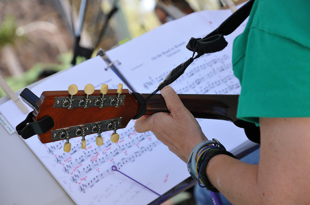 String Bean Folk Orchestra concert at 2011 Tucson Folk Festival. Event photography by Martha Retallick.
