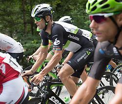 08.07.2017, Wels, AUT, Ö-Tour, Österreich Radrundfahrt 2017, 6. Etappe von St. Johann/Alpendorf nach Wels (203,9 km), im Bild Jay Robert Thomson (RSA, Team Dimension Data) // Jay Robert Thomson of Repuplic of South Africa (Team Dimension Data) during the 6th stage from St. Johann/Alpendorf to Wels (203,9 km) of 2017 Tour of Austria. Wels, Austria on 2017/07/08. EXPA Pictures © 2017, PhotoCredit: EXPA/ Reinhard Eisenbauer