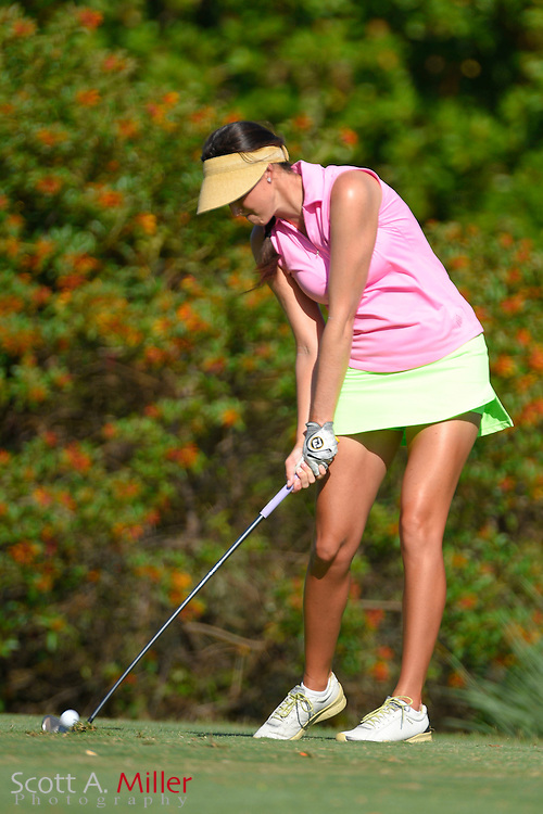 Renee Skidmore during the final round of the Chico's Patty Berg Memorial on April 19, 2015 in Fort Myers, Florida. The tournament feature golfers from both the Symetra and Legends Tours.<br /> <br /> &copy;2015 Scott A. Miller
