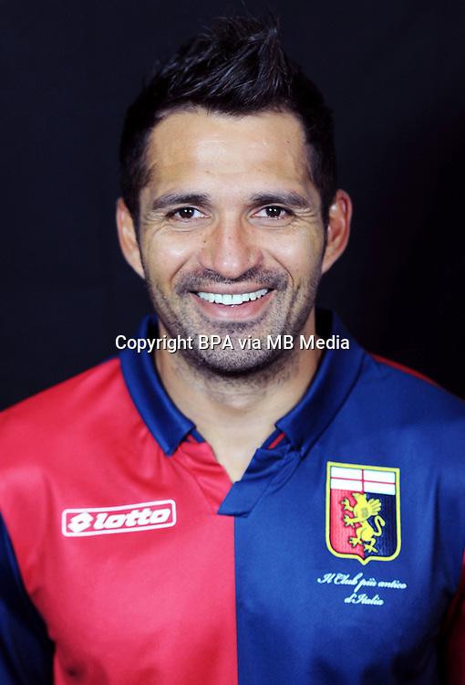Italian League Serie A -2014-2015 / <br /> ( Genoa  CFC  ) - <br /> Mario Alberto Santana &quot; Mario Santana &quot;