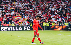 18.05.2016, St. Jakob Park, Basel, SUI, UEFA EL, FC Liverpool vs Sevilla FC, Finale, im Bild entäuscht Daniel Sturridge (FC Liverpool) // Daniel Sturridge (FC Liverpool) disappointed during the Final Match of the UEFA Europaleague between FC Liverpool and Sevilla FC at the St. Jakob Park in Basel, Switzerland on 2016/05/18. EXPA Pictures © 2016, PhotoCredit: EXPA/ JFK