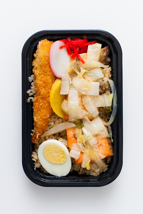 Salmon & Cabbage Bento from Ennju ($8.17)