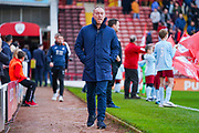 Steve Cooper of Swansea City (Manager) during the EFL Sky Bet Championship match between Barnsley and Swansea City at Oakwell, Barnsley, England on 19 October 2019.
