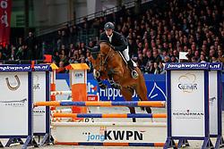 Van Der Schans Patrick (NED) - Extase<br /> KWPN Stallion Selection - 's Hertogenbosch 2014<br /> © Dirk Caremans