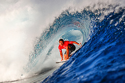 Jun 15, 2017 - Tavarua, Fiji - JULIAN WILSON of Australia advances to the quarterfinals of the Outerknown Fiji Pro after defeating I. Ferreira of Brazil in Heat 1 of Round Five in excellent Cloudbreak conditions. (Credit Image: ? Ed Sloane/WSL via ZUMA Wire/ZUMAPRESS.com)