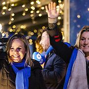 NLD/Amstelveen/20181222 - SBS Kerstparade 2018, Selma van Dijk en Gallyon van Vessem