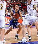 Parigi 03/07/1999<br /> Campionati Europei di Basket Francia 1999<br /> Finale<br /> Italia-Spagna<br /> Alessandro Abbio