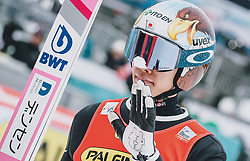 16.02.2020, Kulm, Bad Mitterndorf, AUT, FIS Ski Flug Weltcup, Kulm, Herren, im Bild Taku Takeuchi (JPN) // Taku Takeuchi of Japan during the men's FIS Ski Flying World Cup at the Kulm in Bad Mitterndorf, Austria on 2020/02/16. EXPA Pictures © 2020, PhotoCredit: EXPA/ JFK