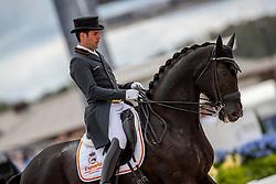 Jurado Lopez Severo Jesus, ESP, Deep Impact 3<br /> World Equestrian Games - Tryon 2018<br /> © Hippo Foto - Dirk Caremans<br /> 14/09/18