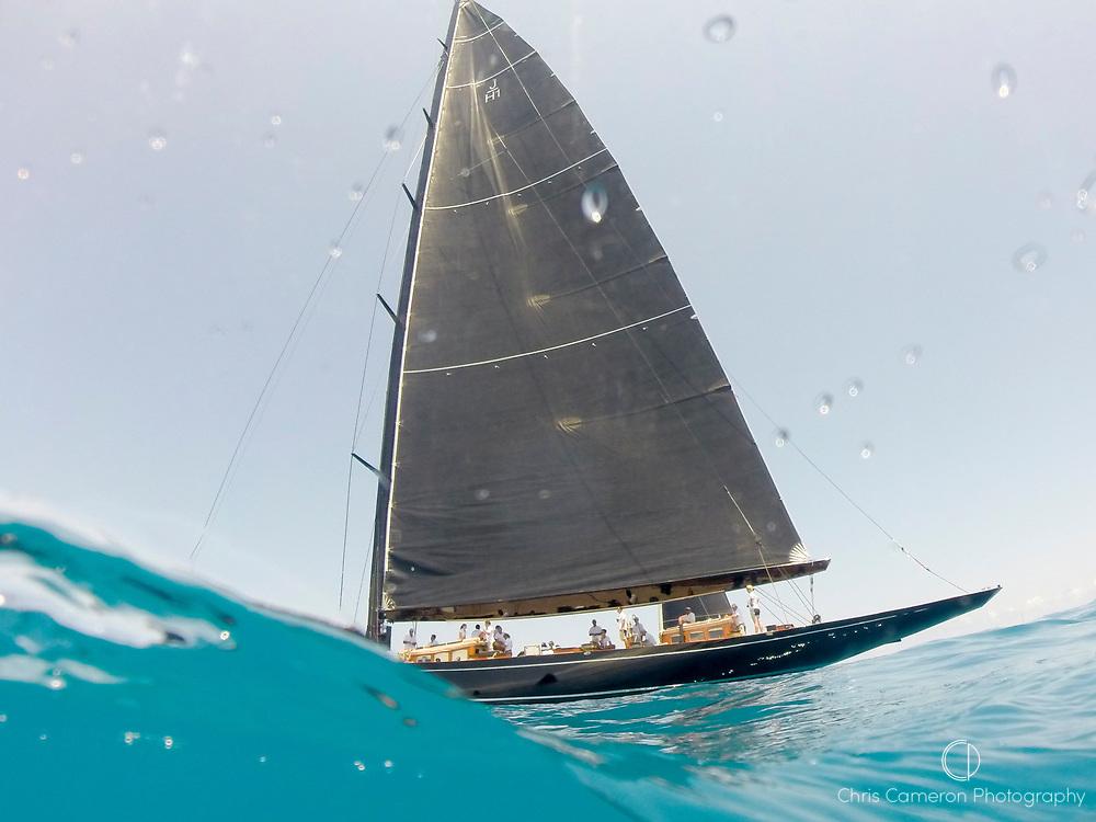 Bermuda, 16th June 2017. America's Cup J Class regatta.