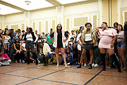 Fashion show at the expo.