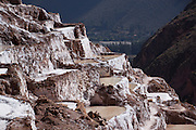 Salt Flats; Maras, Peru