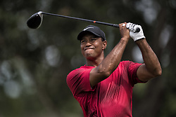 May 13, 2018 - Ponte Vedra Beach, Florida, U.S. - TIGER WOODS on 9th tee during the Players Championship 2018, at TPC Sawgrass. (Credit Image: © Bill Frakes via ZUMA Wire)