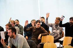 General assembly of SPINS, on December 2, 2019 in Ljubljana, Slovenia. Photo by Vid Ponikvar/ Sportida