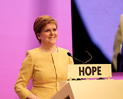 SNP Spring Conference, Sunday 28th April 2019<br /> <br /> Pictured: First Minister Nicola Sturgeon<br /> <br /> Alex Todd | Edinburgh Elite media