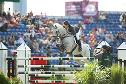 Alvarez Moya Sergio, (ESP), Carlo 273<br /> Team Competition round 1 and Individual Competition round 1<br /> FEI European Championships - Aachen 2015<br /> © Hippo Foto - Stefan Lafrentz<br /> 19/08/15