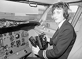 1979 - First Aer Lingus Female Pilot.    (M70)