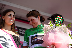 Elisa Longo Borghini has the lead in the climbers competition at Giro Rosa 2016 - Stage 6. A 118.6 km road race from Andora to Alassio, Italy on July 7th 2016.