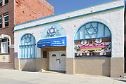 Shul on the Beach on Ocean Front Walk in Venice Beach California