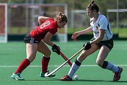 Southgate V Cannock - Investec Women's Hockey League Relegation playoffs, Trent Park, London, UK on 22 April 2018. Photo: Simon Parker