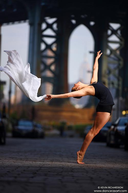 Dance As Art Streets of Dumbo Series with dancer Claudia Maciejuk