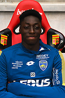 Axel Bakayoko  during the French Ligue 2 match between Quevilly Rouen and Sochaux at Stade Robert Diochon on August 4, 2017 in Rouen, France. (Photo by Philippe Le Brech /Icon Sport)