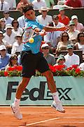 Roland Garros. Paris, France. June 10th 2007..Men's Final..Roger FEDERER against Rafael NADAL.