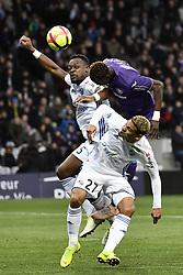 January 13, 2019 - Toulouse, France - Lamine Kone (rcs) vs Issiaga Sylla  (Credit Image: © Panoramic via ZUMA Press)