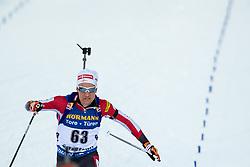 March 9, 2019 - –Stersund, Sweden - 190309 Felix Leitner of Austria competes in the Men's 10 KM sprint during the IBU World Championships Biathlon on March 9, 2019 in Östersund..Photo: Johan Axelsson / BILDBYRÃ…N / Cop 245 (Credit Image: © Johan Axelsson/Bildbyran via ZUMA Press)