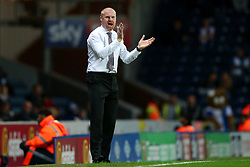 Burnley manager Sean Dyche applauds his players - Mandatory by-line: Matt McNulty/JMP - 23/08/2017 - FOOTBALL - Ewood Park - Blackburn, England - Blackburn Rovers v Burnley - Carabao Cup - Second Round