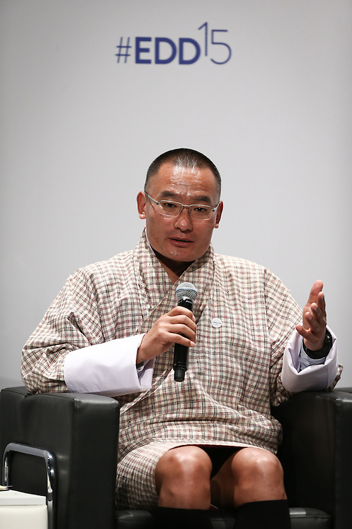 04 June 2015 - Belgium - Brussels - European Development Days - EDD - Climate - A climate change agreement - Towards Paris and beyond - Tshering Tobgay , Prime Minister of the Kingdom of Bhutan © European Union