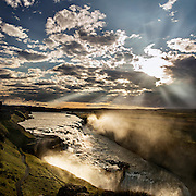 Geysir region, Iceland by Thomas Campbell